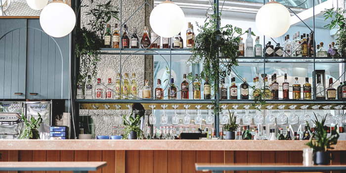 Bar of Privé Wheelock in Orchard Road, Singapore