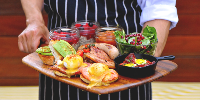 Ultimate Breakfast Platter from Privé Wheelock in Orchard Road, Singapore