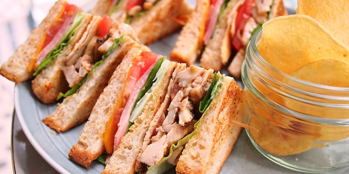 Wholemeal Club Sandwich from Privé Wheelock in Orchard Road, Singapore