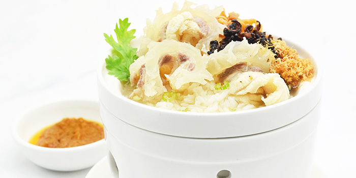 Giant Grouper Porridge from Orient Palace 禧家 at Furama Riverfront Annex Building in Outram, Singapore