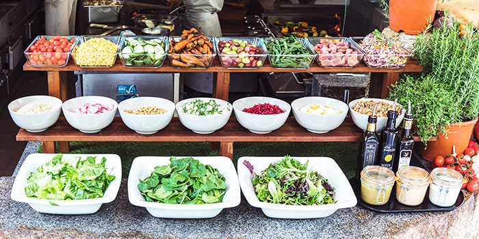 Salad Bar from Oasis Restaurant in Grand Hyatt Singapore in Orchard, Singapore
