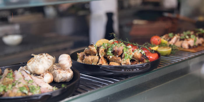 BBQ from Oasis Restaurant in Grand Hyatt Singapore in Orchard, Singapore