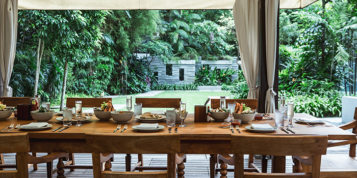 Private Dining Room Cabana from Oasis Restaurant in Grand Hyatt Singapore in Orchard, Singapore