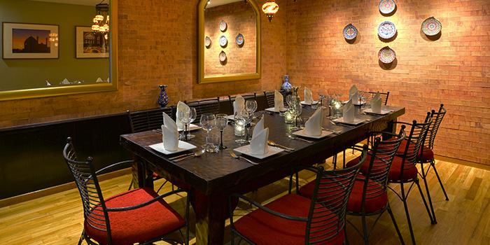 Private Dining Room of Shabestan in Robertson Quay, Singapore