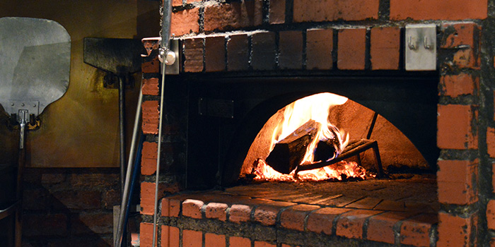 Pizza Oven at Pete