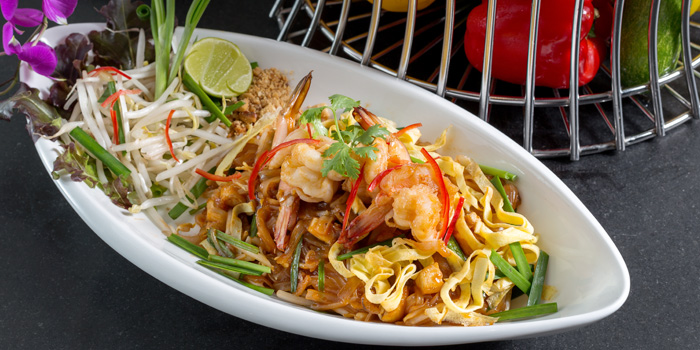 Pad Thai Shrimp from BYD Bar & Bistro in Patong, Phuket, Thailand