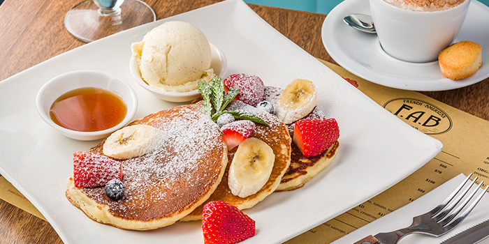 Pancakes, F.A.B., Central, Hong Kong