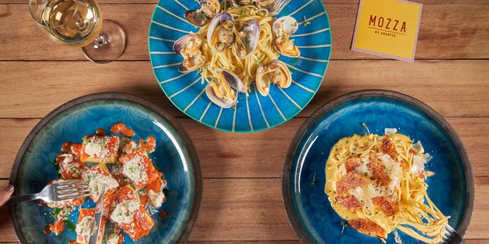 Pasta Selection from Mozza by Cocotte at EmQuartier Ground Fl., Sukhumvit Road, Klongton, Bangkok