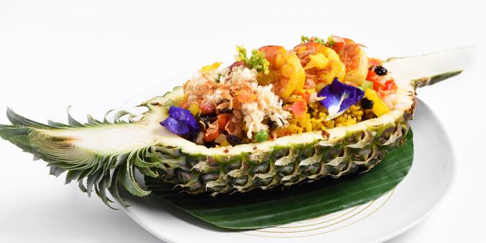Pineapple Fried Rice from Cafe Nine Bangkok Jim Thompson at 9, Surawong Road, Bangkok