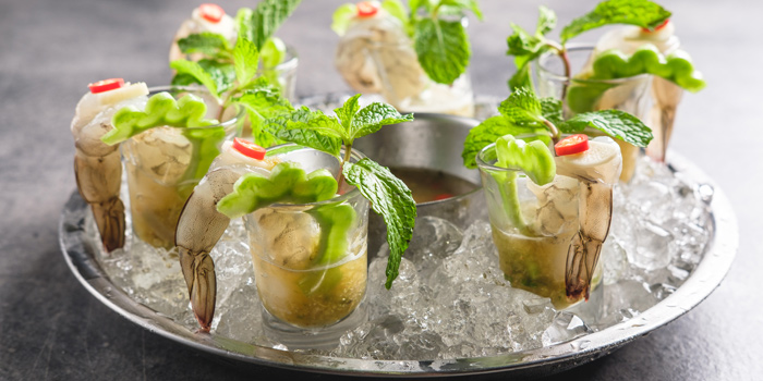 Prawn Ceviche from Kinkao at Central World 4,4/1-4/2 4/4 Ratchadamri Rd Pathumwan Bangkok