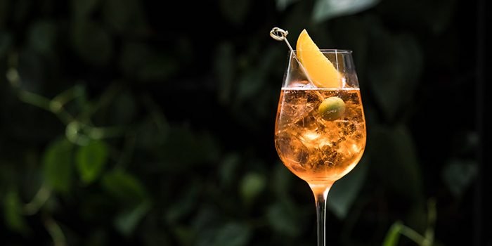 Aperol Spritz from Publico Ristorante at InterContinental Singapore Robertson Quay in Robertson Quay, Singapore