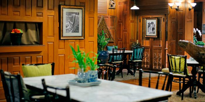 Quiet Corner from Cafe Nine Bangkok Jim Thompson at 9, Surawong Road, Bangkok