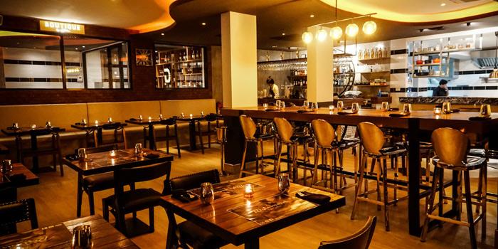 Restaurant-Ambiance of GOTHA Phuket in Patong, Phuket, Thailand