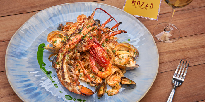 Royal Seafood Spaghetti from Mozza by Cocotte at EmQuartier Ground Fl., Sukhumvit Road, Klongton, Bangkok