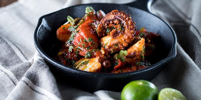 Sauteed Octopus Chorizo n Potato, The Salted Pig, Sai Wan Ho, Hong Kong