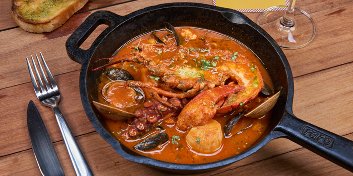Seafood Stew from Mozza by Cocotte at EmQuartier Ground Fl., Sukhumvit Road, Klongton, Bangkok