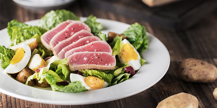 Seared Tuna Nicoise Salad, The Salted Pig, Sai Wan Ho, Hong Kong