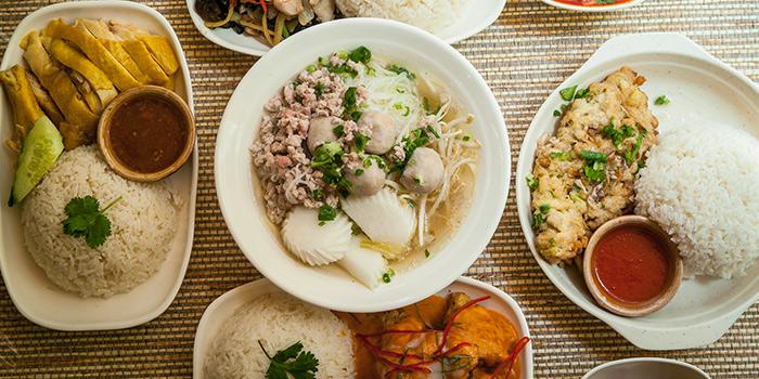 Set Lunch, Krua Walaiphan, Sai Ying Pun, Hong Kong