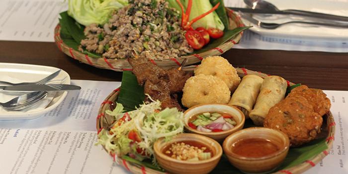 Sharing Platter, Krua Walaiphan, Sai Ying Pun, Hong Kong