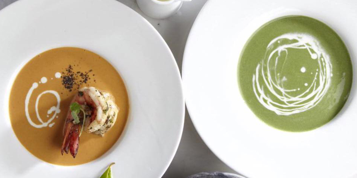 Soup Selection from Number Five Restaurant & Cafe at 202,222 Bang Khanun Bang Kruai, Nonthaburi