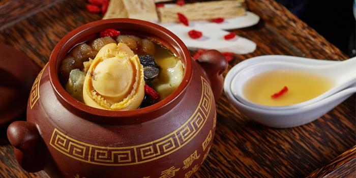 Soup-with-Sea-Cucumber-and-Abalone from Red Rose Restaurant & Jazz Bar at Shanghai Mansion in Yaowaraj Road, Samphantawong, Bangkok
