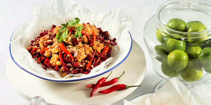Spicy Chicken Dices, Yum Cha, Mong Kok, Hong Kong