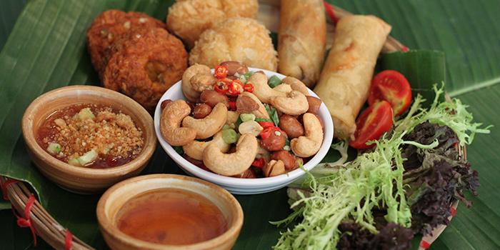 Starter Platter, Krua Walaiphan, Sai Ying Pun, Hong Kong