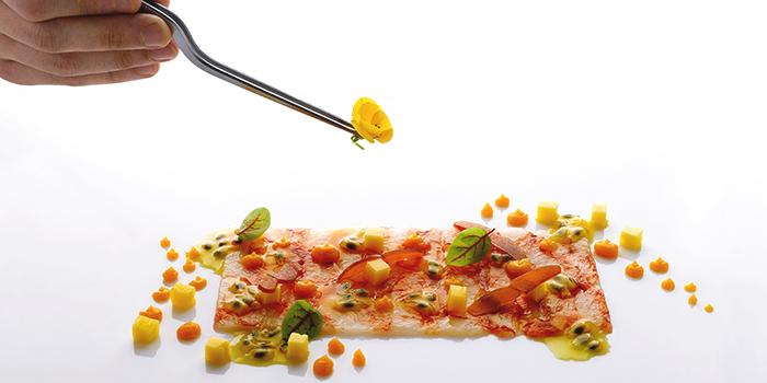 Tagliolini Caviale e Merluzzo from Forlino at One Fullerton in Raffles Place, Singapore