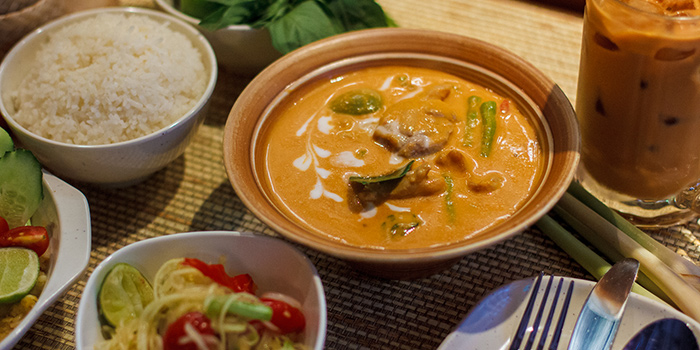 Thai Red Curry, Krua Walaiphan, Sai Ying Pun, Hong Kong