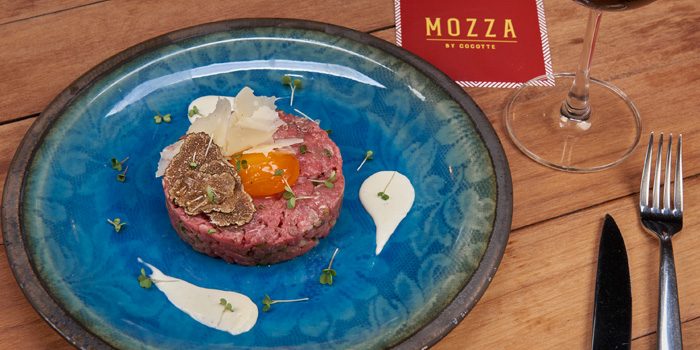Truffle Beef Tartare from Mozza by Cocotte at EmQuartier Ground Fl., Sukhumvit Road, Klongton, Bangkok