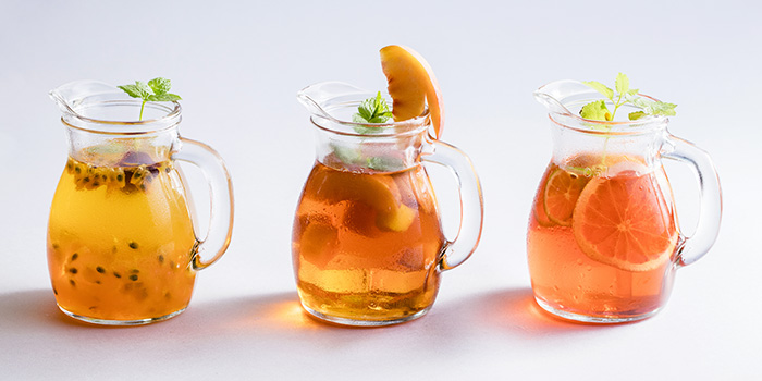 Iced Fruit Tea from Typhoon Cafe at Plaza Singapura in Dhoby Ghaut, Singapore