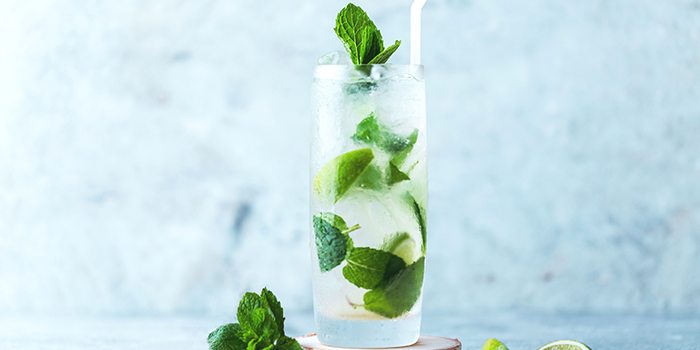 Mojito from Urbana Rooftop Bar at Courtyard by Marriott Singapore in Novena, Singapore