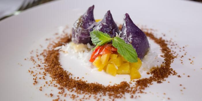 Dessert at Gong Restaurant, Bali