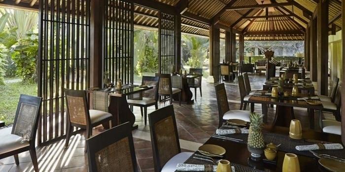 Interior 1 at Gong Restaurant, Bali