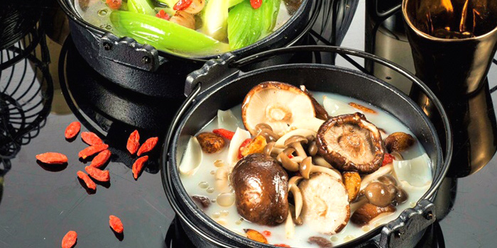 Wild Mushroom in Superior Soup, Yum Cha, Mong Kok, Hong Kong