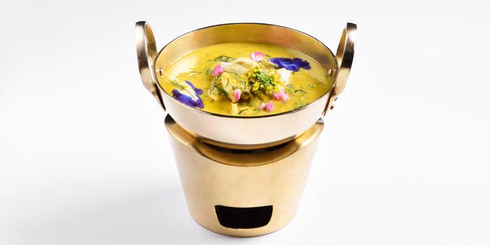 Yellow Curry with Crab from Cafe Nine Bangkok Jim Thompson at 9, Surawong Road, Bangkok