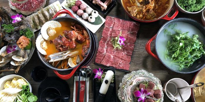 Hotpot, Seansin Seafood Hotpot Experts, Causeway Bay, Hong Kong