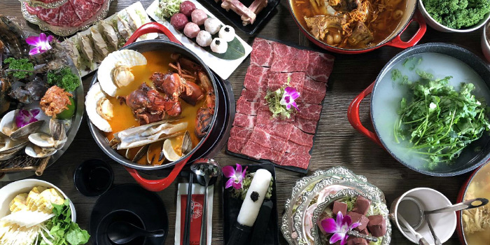 Hotpot, Seansin Seafood Hotpot Experts, Causeway Bay, Hong Kong