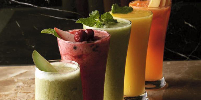 Fresh Fruits Smoothies from Number Five Restaurant & Cafe at 202,222 Bang Khanun Bang Kruai, Nonthaburi