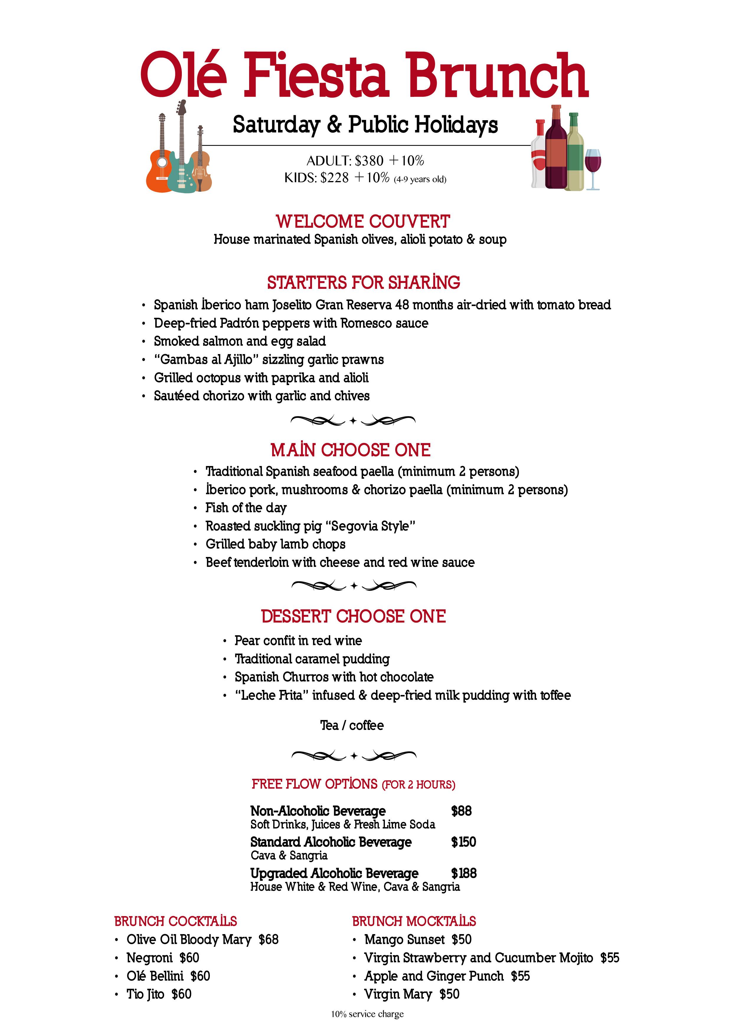 ole spanish restaurant & wine bar | chope restaurant reservations