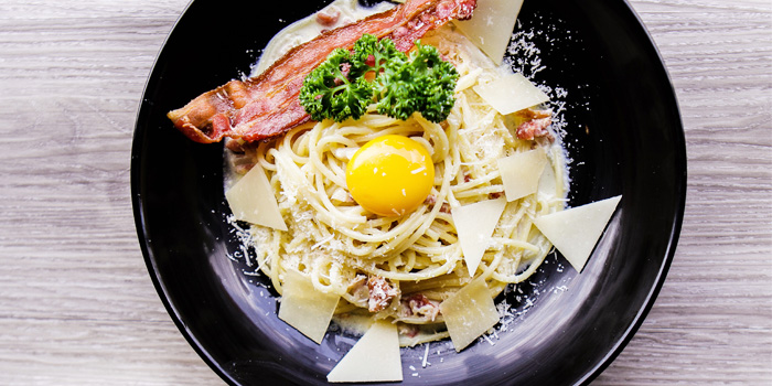 A-la-minute-pasta-station from Mistral Restaurant at Pullman Bangkok Hotel G 37th Floor, 188 Silom Rd, Bangrak, Bangkok