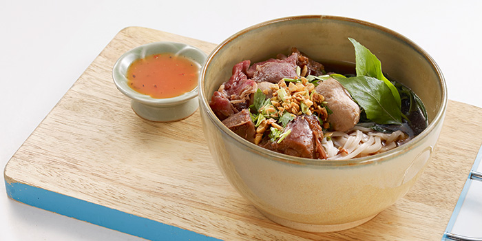 Signature Beef Noodle from Bangkok Jam (Great World City) in River Valley, Singapore