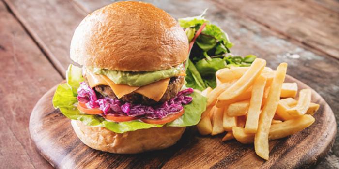 Eastin Burger from Barossa at Esplanade Mall in Promenade, Singapore