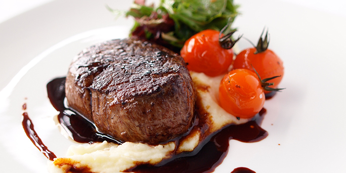 Beef Tenderloin from Privé Grill @ The University Club at Shaw Foundation Alumni House in Clementi, Singapore