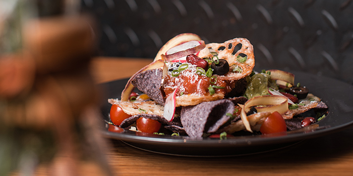 Blue Corn Nachos, The Coffee Academics, Causeway Bay, Hong Kong