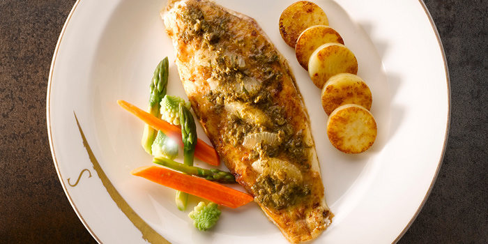 Dover Sole Fillet from Brasserie Les Saveurs at St. Regis Singapore in Tanglin, Singapore
