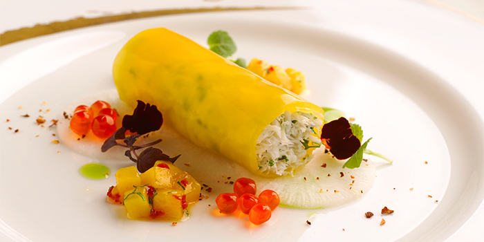Lobster Langoustines Roulade from Brasserie Les Saveurs at St. Regis Singapore in Tanglin, Singapore