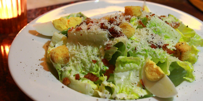 Ceasar Salad  from The U.S. Steakhouse on Sukhumvit Soi 16