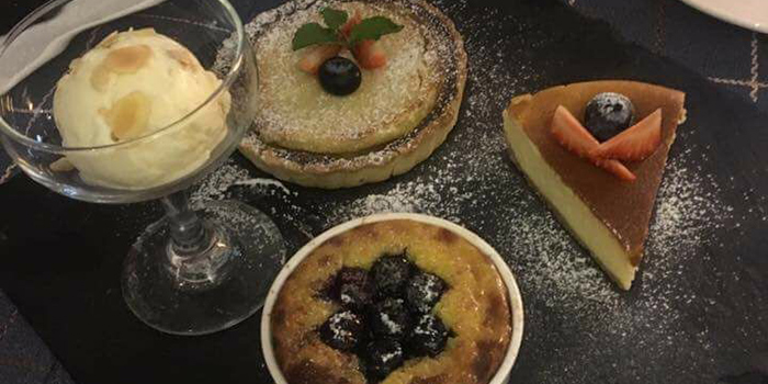 Dessert, Delizia Kitchen, Causeway Bay, Hong Kong