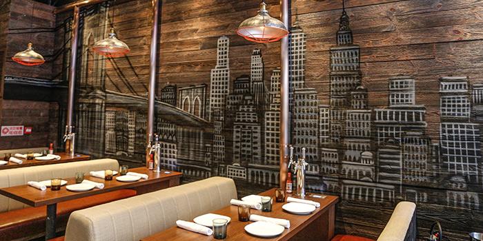 Dining Area, Cali-Mex Bar and Grill, Sai Ying Pun, Hong Kong